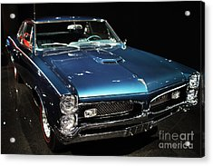 Pontiac Gto 2 Acrylic Print by Wingsdomain Art and Photography