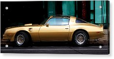 Pontiac Trans Am Acrylic Print by Andrew Fare