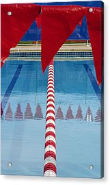 Pool Acrylic Print by Skip Hunt
