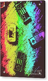 Pop Art Video Games Acrylic Print by Jorgo Photography - Wall Art Gallery