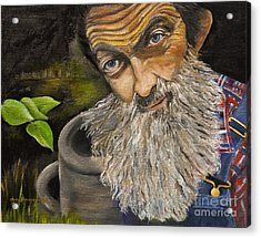 Popcorn Shines - Last Run - Moonshiner Acrylic Print by Jan Dappen