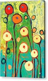 Poppy Celebration Acrylic Print by Jennifer Lommers