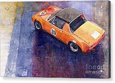 Porsche 914 Gt Acrylic Print by Yuriy  Shevchuk