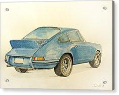 Porsche Rs Acrylic Print by Juan  Bosco