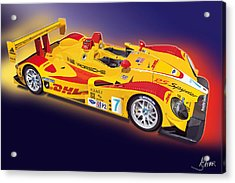 porsche RS Spyder Acrylic Print by Alain Jamar