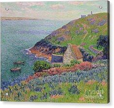 Port Manech Acrylic Print by Henry Moret