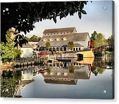 Port Orleans Riverside Acrylic Print by Nora Martinez