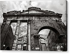 Porticus Octaviae In Rome Acrylic Print by Diane Diederich
