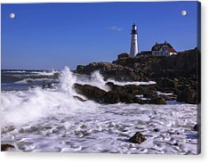 Portland Head Light I Acrylic Print by Chad Dutson