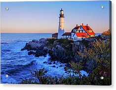 Portland Head Light II Acrylic Print by Chad Dutson