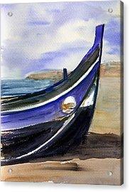 Portoboat Acrylic Print by Anselmo Albert Torres