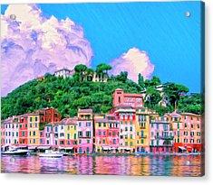 Portofino Acrylic Print by Dominic Piperata