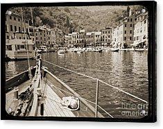 Portofino Italy From Solway Maid Acrylic Print by Dustin K Ryan