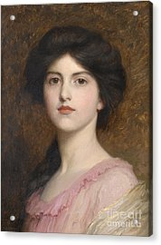 Portrait Of Camille Sutton Palmer Acrylic Print by Celestial Images