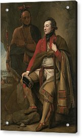 Portrait Of Colonel Guy Johnson Acrylic Print by Benjamin West