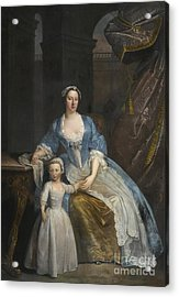 Portrait Of Elizabeth Beckford Acrylic Print by Celestial Images