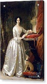 Portrait Of Grand Duchess Maria Alexandrovna Acrylic Print by Christina Robertson