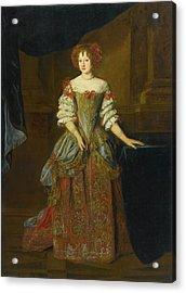 Portrait Of Princess Teresa Pamphilj Cybo Acrylic Print by Jacob Ferdinand