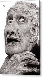 Portrait Of Vincent Price Acrylic Print by Carrie Jackson