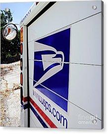 Post Office Truck Acrylic Print by Kenneth Lempert