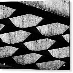 Pot Holes - 2 Of 2 Acrylic Print by Alan Todd