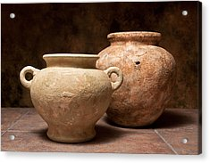Pottery I Acrylic Print by Tom Mc Nemar