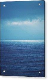 Powder Blue Acrylic Print by Skip Hunt