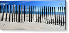Praia Do Cabeco - Panoramic Acrylic Print by Carl Whitfield