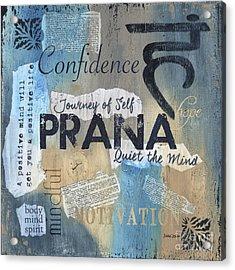 Prana Acrylic Print by Debbie DeWitt