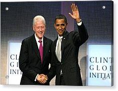 President Bill Clinton, President Acrylic Print by Everett