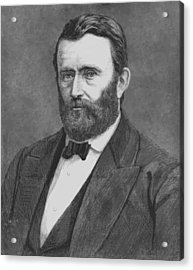 President Grant Acrylic Print by War Is Hell Store