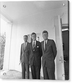 President John Kennedy Acrylic Print by Everett