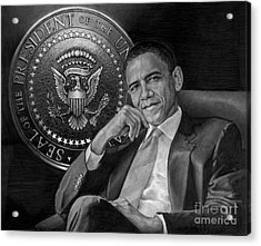 Presidential Seal Acrylic Print by Raoul Alburg