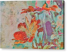 Pretty Bouquet - A09z7bt2 Acrylic Print by Variance Collections
