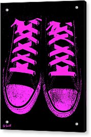 Pretty In Pink Acrylic Print by Ed Smith
