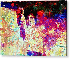 Prince Acrylic Print by Brian Reaves