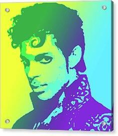 Prince Acrylic Print by Greg Joens