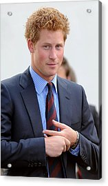 Prince Harry At A Public Appearance Acrylic Print by Everett