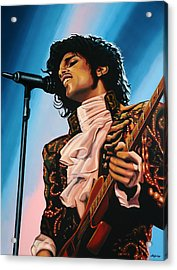 Prince Painting Acrylic Print by Paul Meijering
