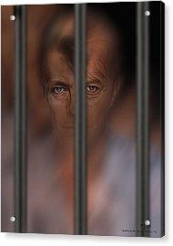 Prisoner Of Love Acrylic Print by Pedro L Gili