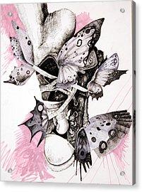 Project Set Me Free Acrylic Print by Beka Burns