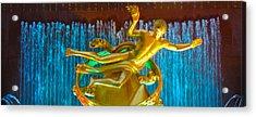 Prometheus Sculpture Acrylic Print by Art Spectrum