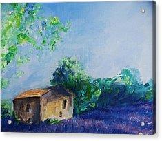Provence House Acrylic Print by Eric  Schiabor