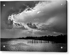 Provincetown Storm Acrylic Print by Charles Harden