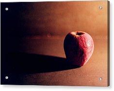 Pruned Apple Still Life Acrylic Print by Michelle Calkins