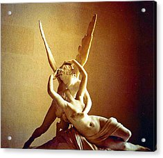 Psyche And Cupid Acrylic Print by Michael Durst