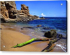 Puerto Rico Toro Point Acrylic Print by Thomas R Fletcher