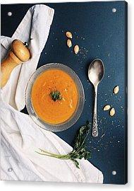 Pumpkin Porridge Acrylic Print by Vova Yatsiuk