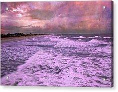 Purple Majesty  Acrylic Print by Betsy Knapp