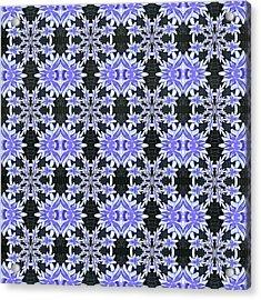 Purple Plenty Acrylic Print by Susan Leggett